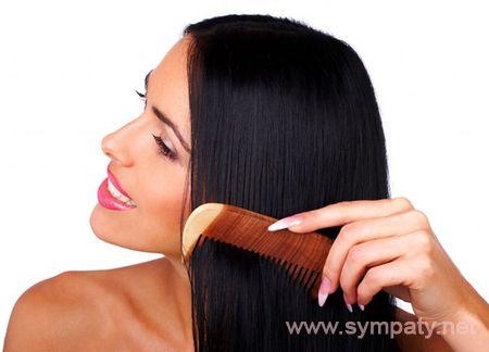 Сделать волосы блестящими Гладкие и блестящие волосы в 84