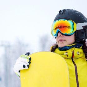 Зимний спорт может быть приятным и полезным!