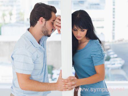 с мужем не живу вместе