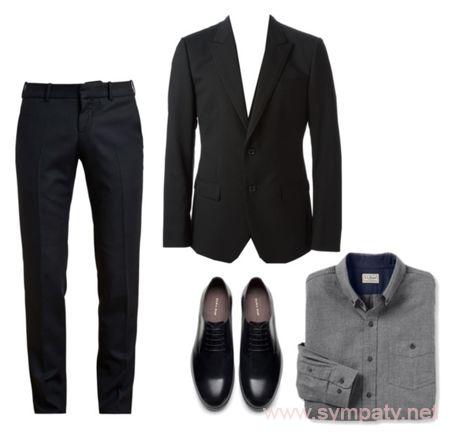 что одеть мужчине на похороны