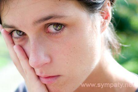 как сдержать слезы