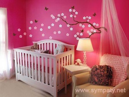 украсить комнату для новорожденного