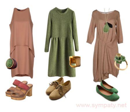 выбрать цвет платья