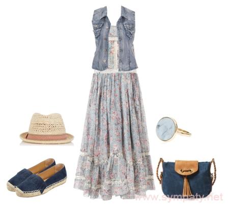рустикальный стиль в одежде