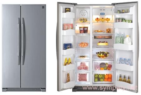 холодильник сайд бай сайд размеры