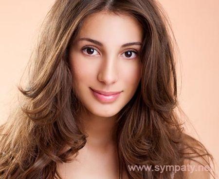 Причёски для овального типа лица