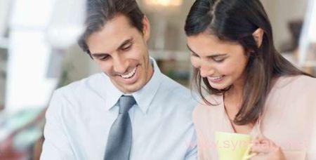 муж с женой работают вместе