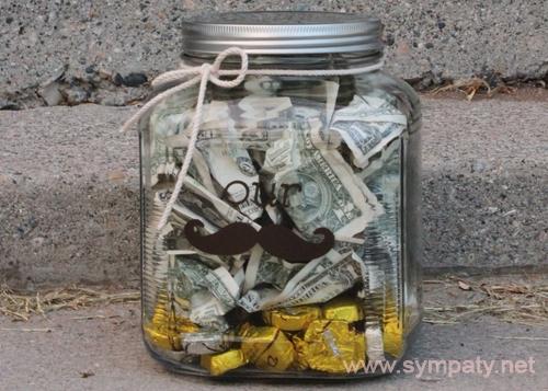 как необычно подарить деньги