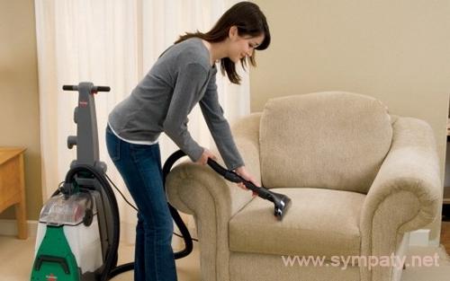 Как чистить домашних условиях обивку на диване