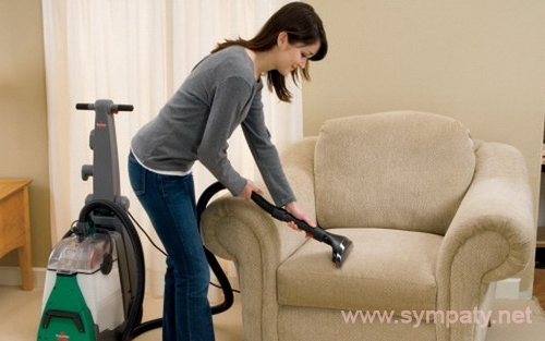 как почистить обивку дивана