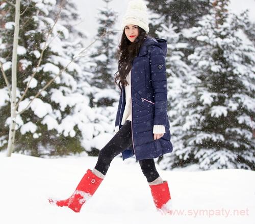 носить джинсы зимой