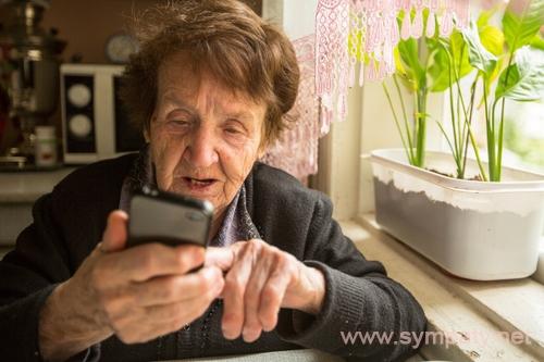 простые мобильные телефоны для пожилых людей