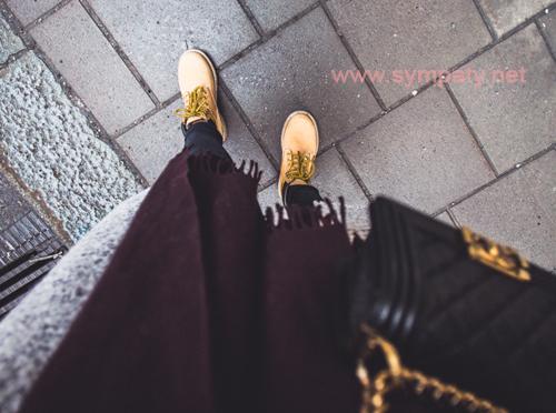 носить женские ботинки
