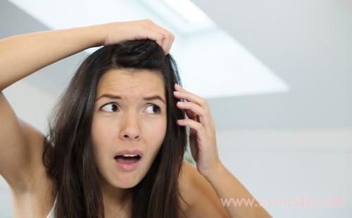 первый седой волос