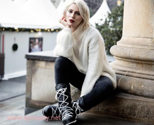 с чем носить сапоги зимой