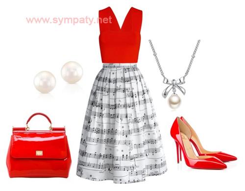 красные лабутены с чем носить