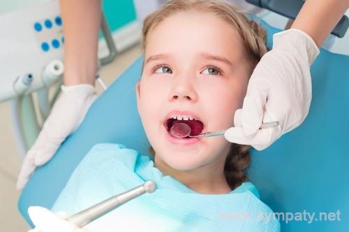 молочные зубы у детей кариес