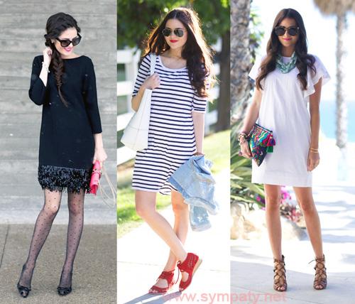 Какие платья как носятся