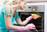 чем отмыть духовку от старого пригоревшего жира