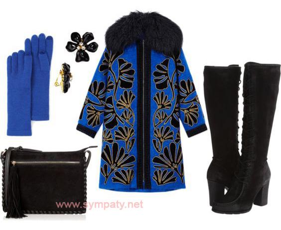 пальто в стиле оверсайз с чем носить