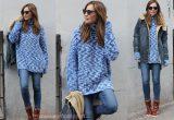 носить платье свитер
