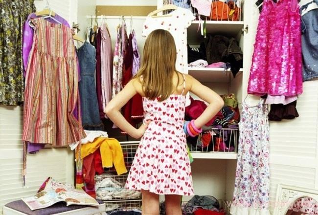 как организовать вещи в шкафу