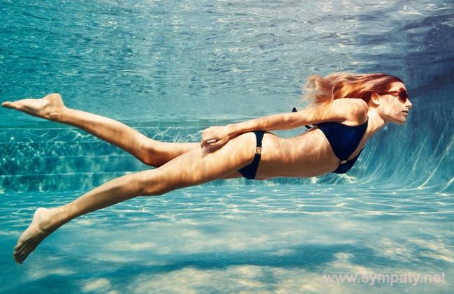 плавание похудеть