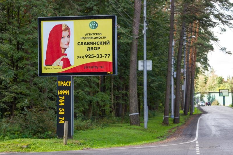 Ирина Волина на плакате