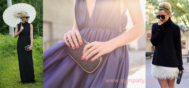 Минодьер - разновидность клатча, маленькая сумочка, рассчитанная на ношение в руке