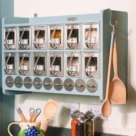 Органайзеры и системы хранения помогут организовать кухонные принадлежности