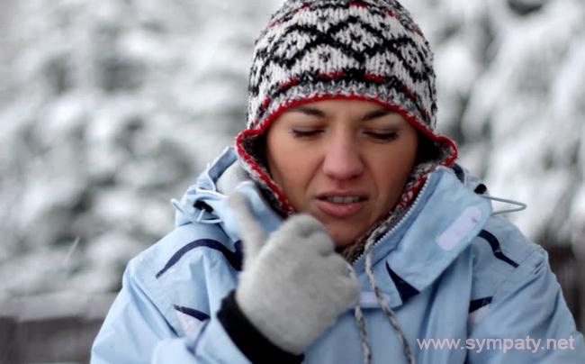 При аллергии на холод главное - избегать переохлаждения