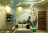 Решить вопрос освещения в детской можно, используя подвесной потолок
