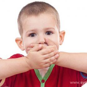 Заикание у детей может быть последствием родовой травмы или перенесенного заболевания