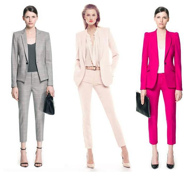 Брючный костюм идеален не только для офиса - в нем можно пойти на свидание, на шопинг или в гости