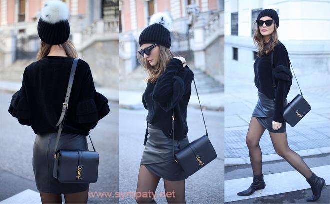 7f8c6d2bedc Как носить кожаную юбку карандаш