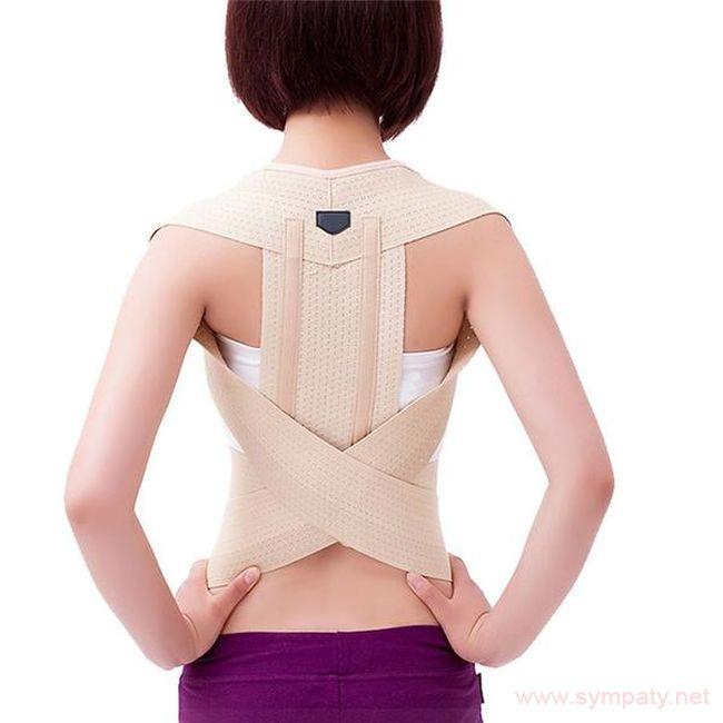 Как правильно одеть корсет для спины