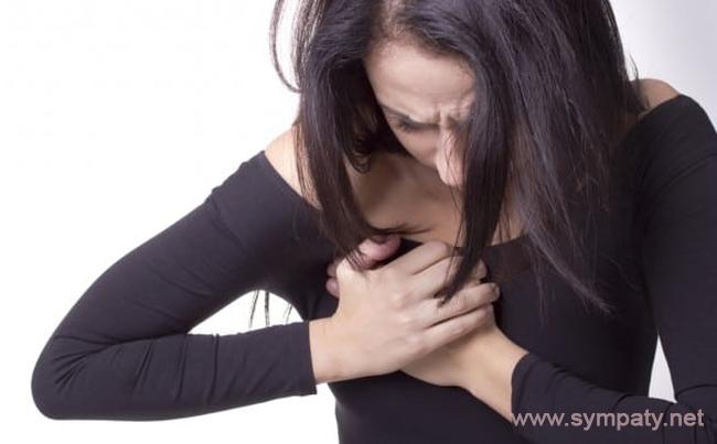 Боль в грудной клетке при глубоком вдохе справа или слева
