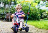 классический детский трехколесный велосипед