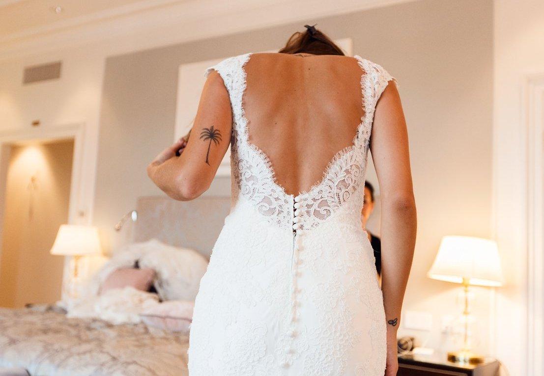 свадебное самое модное короткое платье