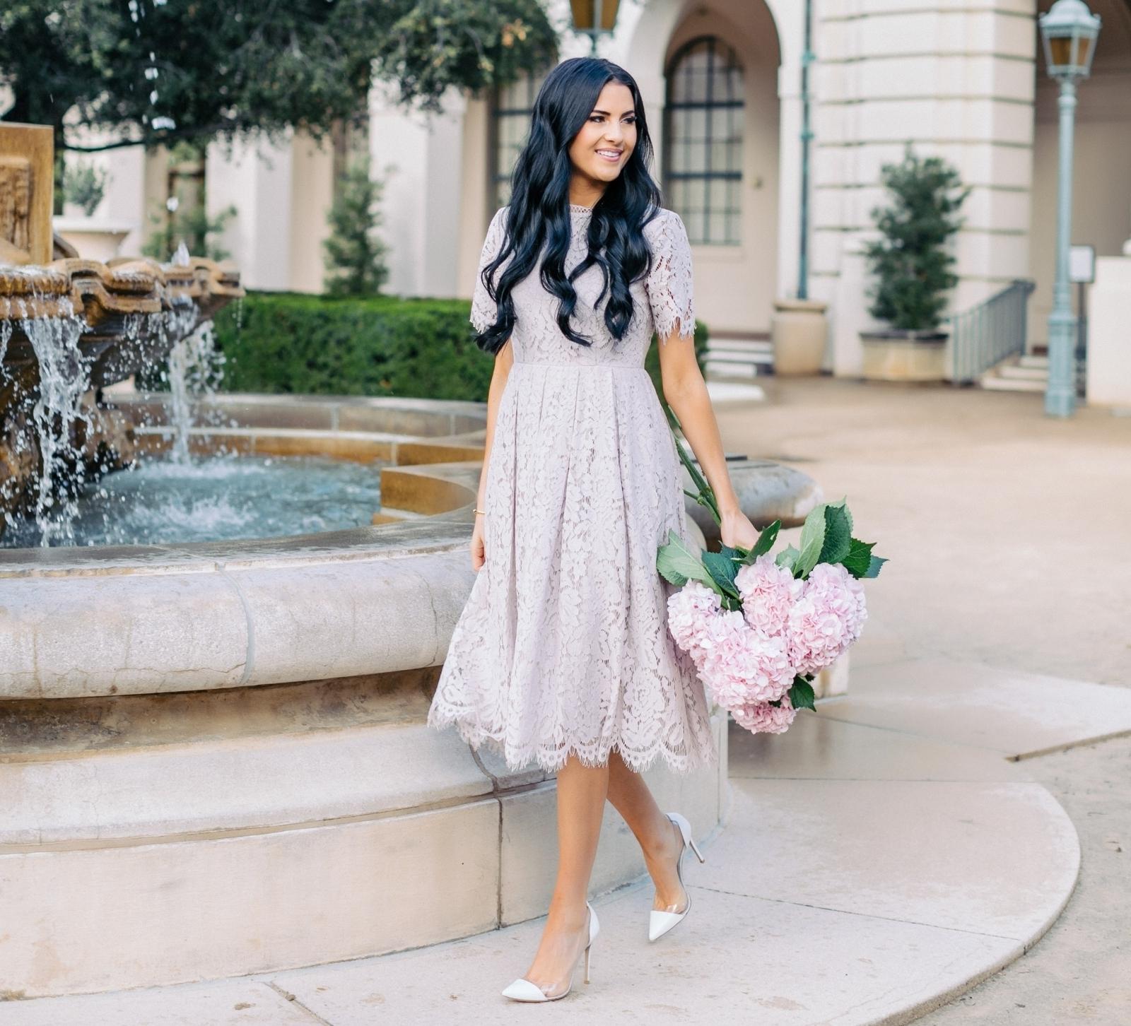 платье длинное на свадьбу в качестве гостя
