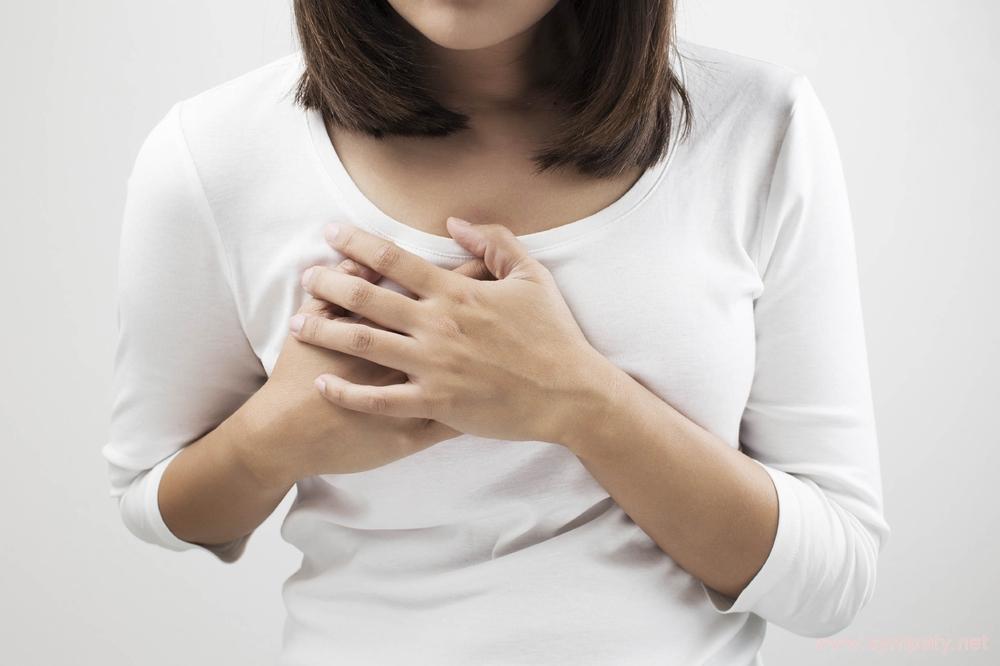 Чувствительность груди в середине цикла