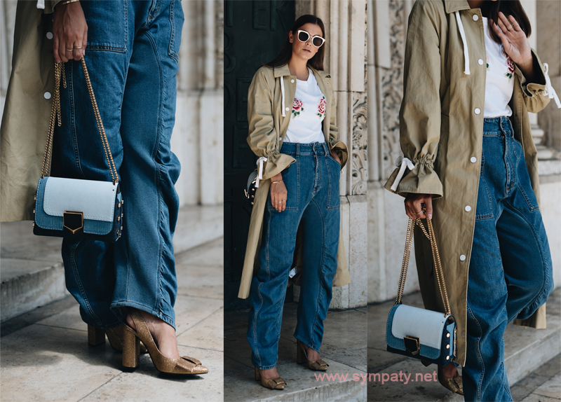 В джинсах-карго тоже можно быть женственной!